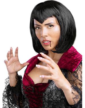 Vampire Black Wig