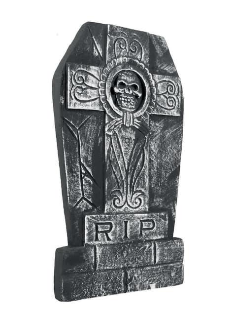 Dekorace děsivý náhrobní kámen
