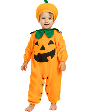 Kürbis Kostüm für Babys