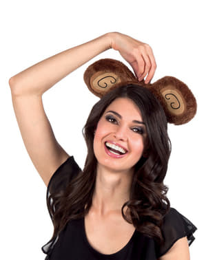 Dámská čelenka opičí uši