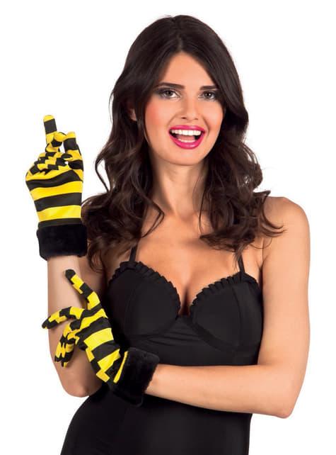 Luvas de abelha para mulher