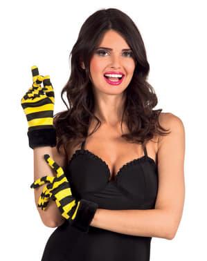 Bij handschoenen voor vrouw