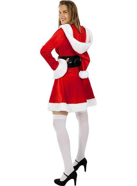 Deluxe Mrs Claus Costume for Women