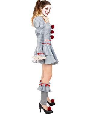 Pennywise Kostume til kvinder - IT: Kapitel to