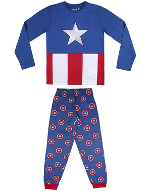 Pijamale Căpitan America pentru băieți