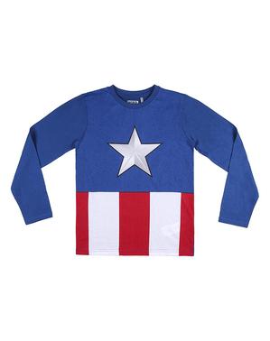 Captain America-pyjama voor jongens