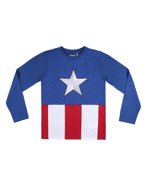 Pijama Capitão América para menino