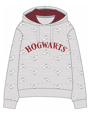 Sweatshirt Howgarts Grå för barn - Harry Potter
