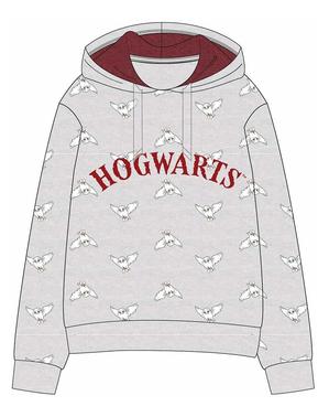 Szara Bluza Hogwart dla dzieci - Harry Potter