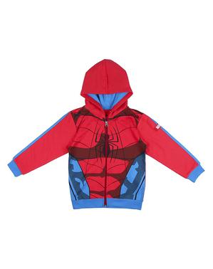 Kurtka Spiderman dla chłopców