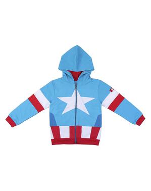 Captain America-jas voor jongens