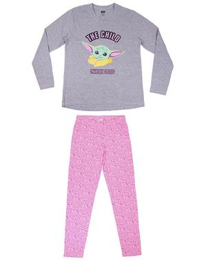 Pijama Baby Yoda (The Child) para adulto - The Mandalorian