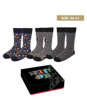 Pakke med 3 Mikke Sokker