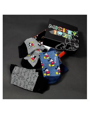3 paires de chaussettes Mickey