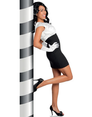 Mănuși albe elegante pentru femeie
