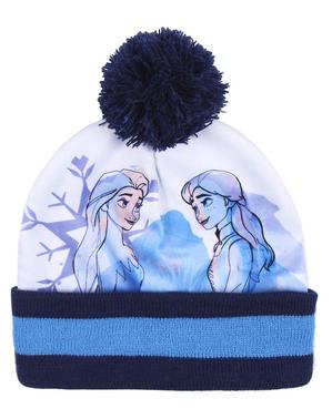 Frozen II hattu, huivi ja käsineet setti tytöille