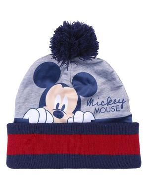 Set de gorro, pañuelo y guantes Mickey para niño