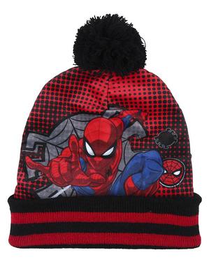 Set pălărie, eșarfă și mănuși Spiderman pentru băieți