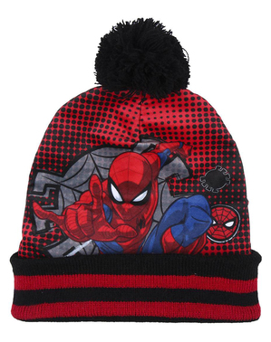 Spiderman Hatt, Skjerf og Hansker sett til gutter