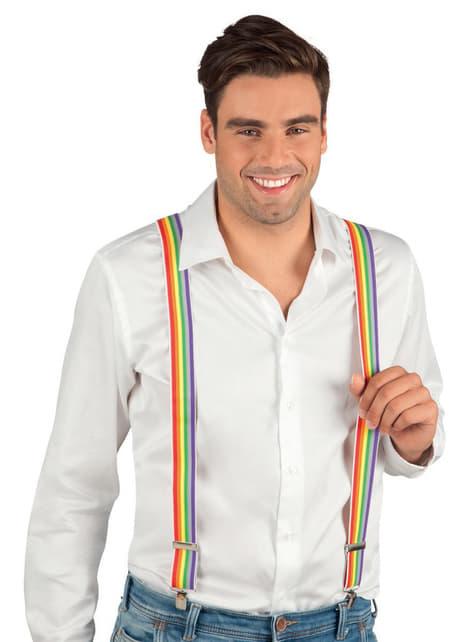 Tirantes de arcoíris para adulto