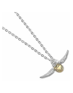 Collar Snitch Dorado - Harry Potter