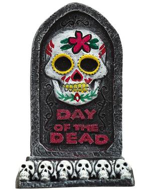 Day of the Dead Gravestone 13 x 8 cm
