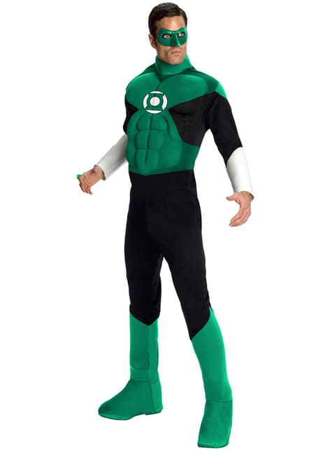 Muscular Green Lantern Adult Costume
