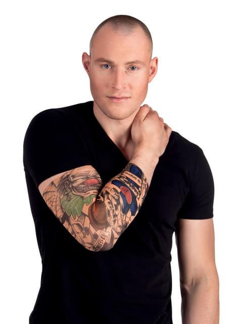 Manga con tatuajes de la costa oeste para adulto - para tu disfraz