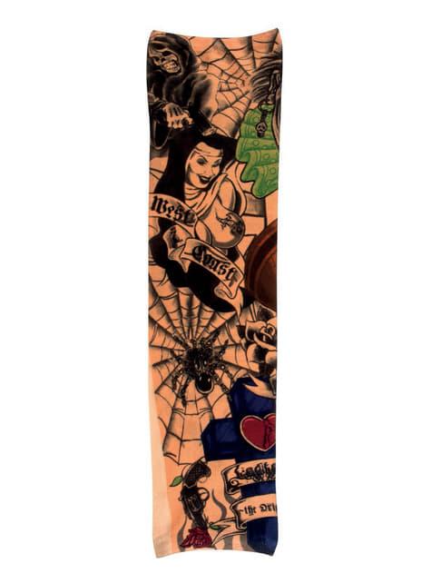 Manga con tatuajes de la costa oeste para adulto