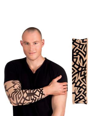 Rękaw z plemiennymi tatuażami dla dorosłych