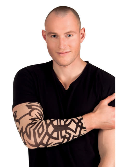 Adult's Tribal Tattoo Sleeve