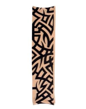 Manica tatuaggio tribale per adulto
