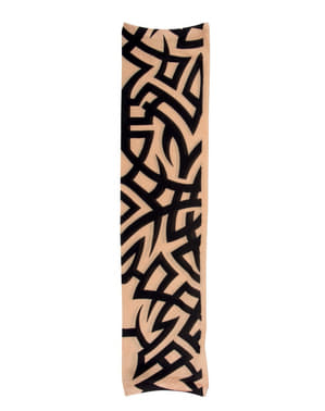 Mouw met tribal tattoos voor volwassenen