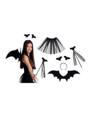 Kokettes Fledermaus Set für Damen