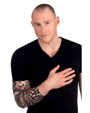 Manga con tatuaje de dragón para adulto
