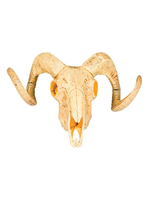 Decorative Goat Skeleton Figure