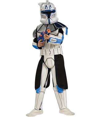 Clone Trooper Rex kostume deluxe til drenge i kasse