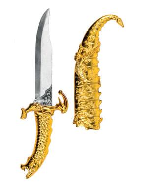 Arabdolk i guld