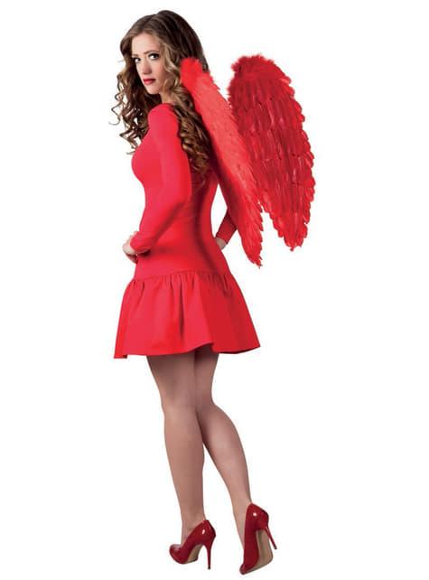 Skrzydła czerwone pióra dla dorosłych