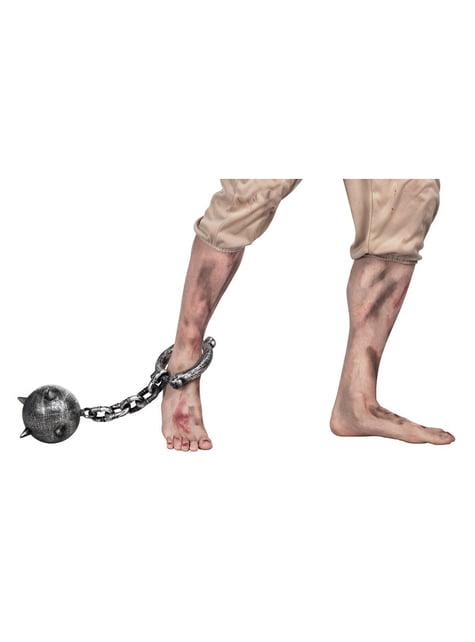 Boule et chaîne prisonnier