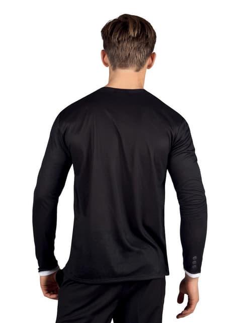 Camiseta de esmoquin elegante para hombre - adulto