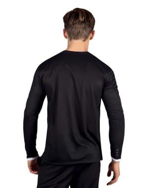 חולצת טוקסידו האלגנטית לגברים