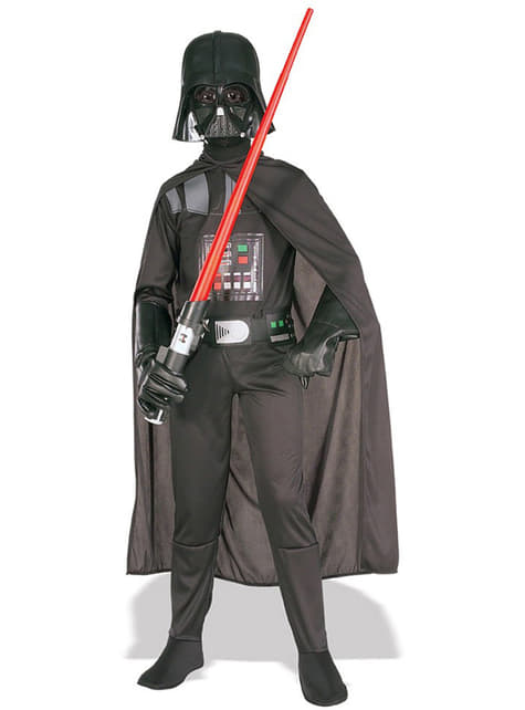 Darth Vader kostuum voor jongens