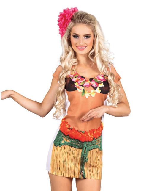Shirt hawaiiaanse voor vrouw