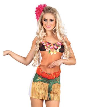 T-shirt hawaïenne femme