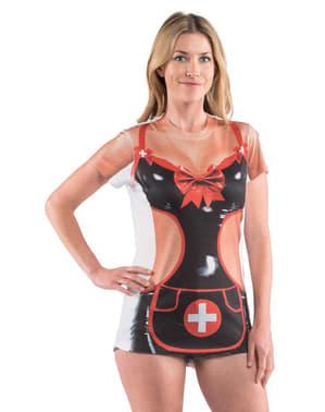 Maglietta da infermiera piccante per donna