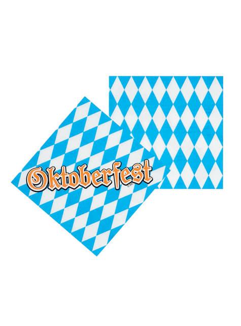Conjunto de guardanapos Oktoberfest