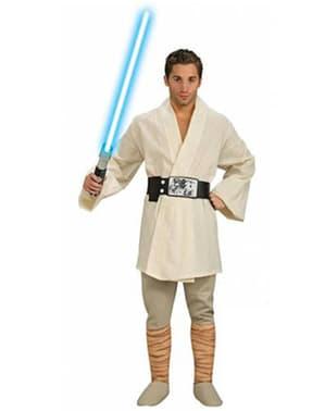 Fato de Luke Skywalker Deluxe adulto
