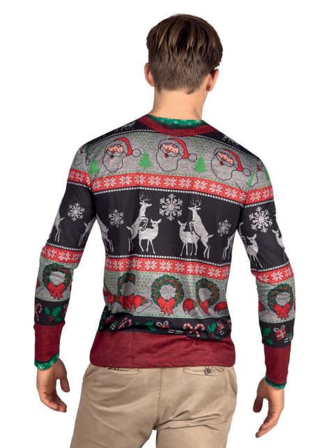 Camisola natalícia para homem