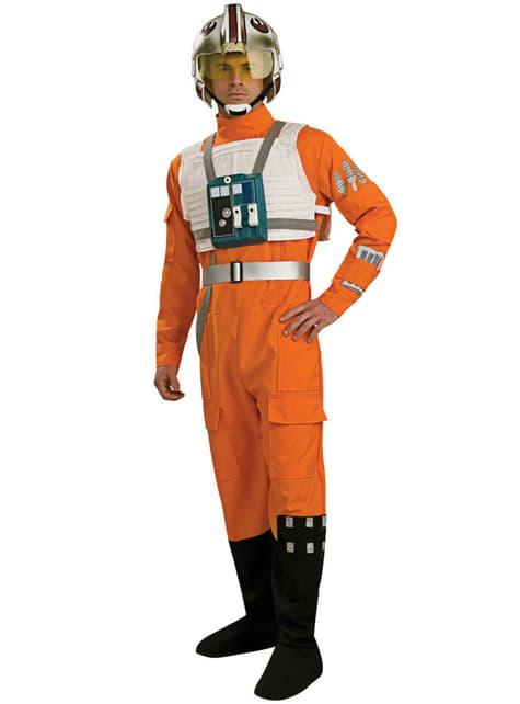 X-Wing Pilot Voksenkostyme